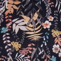 378 wzór kwiaty-liście