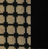 824 czarny+kratka brązowo czarna