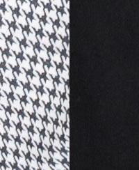 920 pepita biało/czarna+czarny